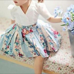 PatPat Little Lady Floral A Line Dress, NWT, 7/8